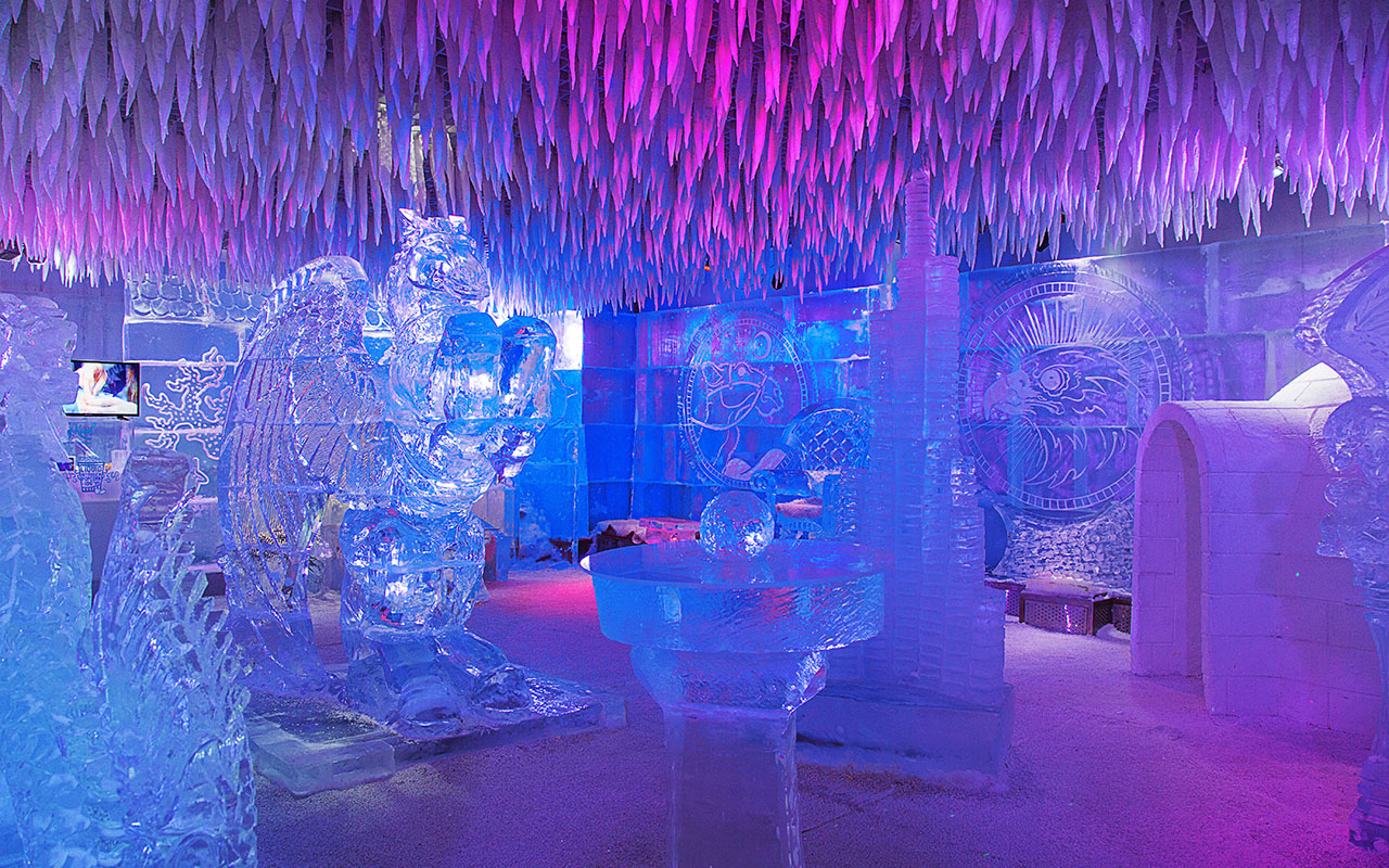 Chillout Ice Lounge Middle East S First Sub Zero Lounge